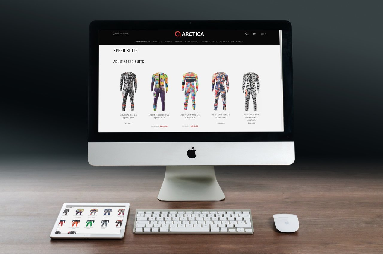 Shop online for a ski racing speed suit in summer on arctica.com