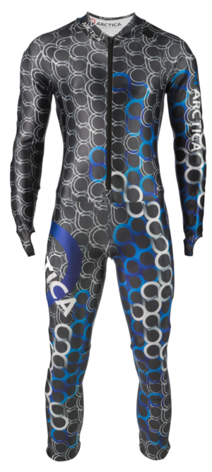 Youth AMP GS Speed Suit - Blue, Small on Arctica