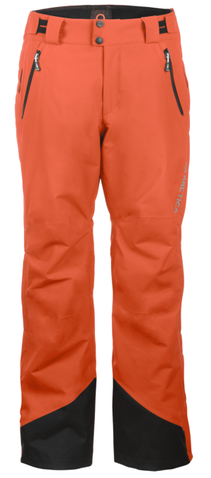 Youth Side Zip Pants 2.0 - Tangerine, Small on Arctica 1