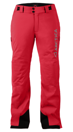 Women's Speedster Side Zip Ski Pants - Deep Red, X-Large on Arctica