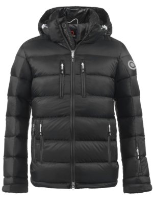 Youth Classic Down Packet - Black, Small on Arctica