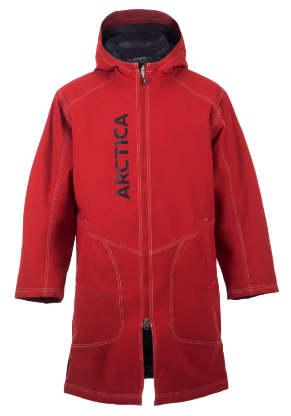 A Team Warm Up Coat on Arctica 3