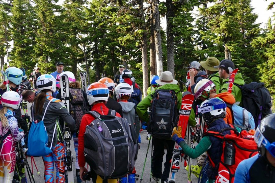 Prepare for all weather and all conditions for your first time to summer ski camp at Mount Hood.