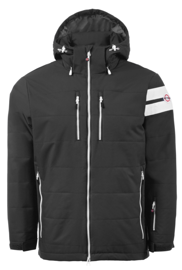 The Comp jacket makes a great ski team jacket for men, women and kids.