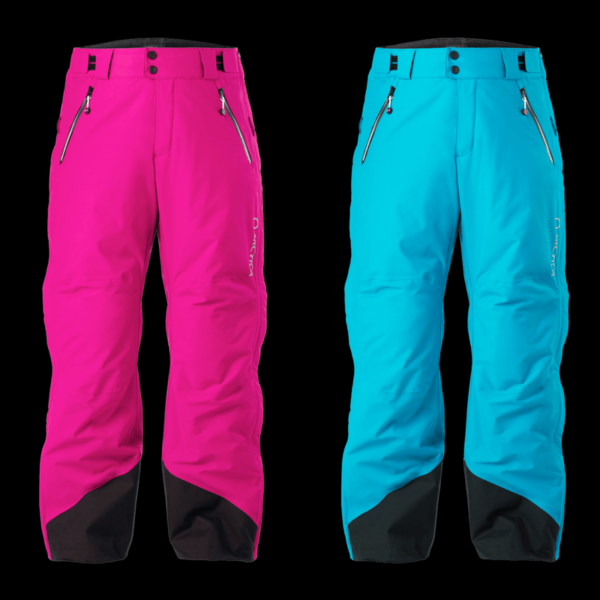 Artica Side Zip Pants 2.0 in pink and sky.
